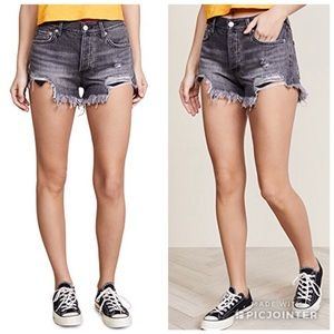NWT Free People Loving Good Vibrations Cut Offs